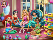 Disney Princesses Pijama Party